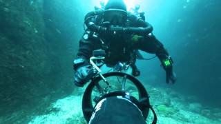 Project Baseline Expedition Diver Returns from Mesophotic Documentation in Azores