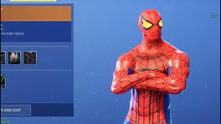 Fortnite Spider Man Skin
