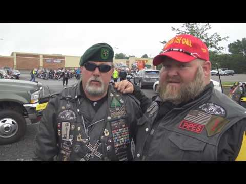 Rolling Thunder Run For The Wall 2017,including Full Throttle Magazine interview