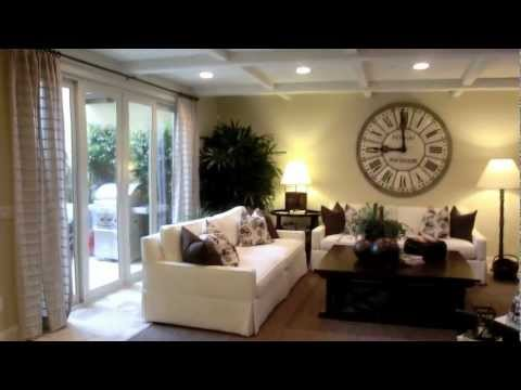 The Villas At Pacific Shores In Huntington Beach Plan 1 Model Home Tour