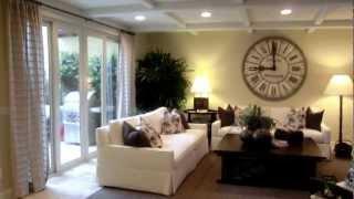 The Villas at Pacific Shores in Huntington Beach Plan 1 model home tour