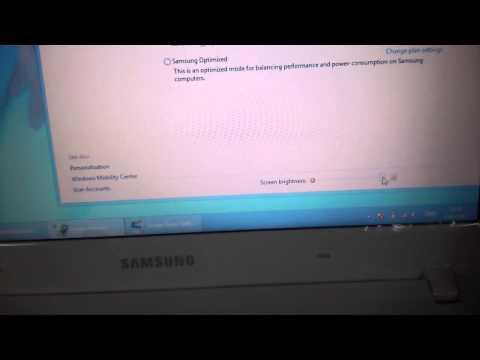 Notebook Samsung ปรับแสงหน้าจอไม่ได้ (ใส่ Link โหลดไดรเวอร์ให้แล้ว)