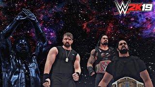 WWE 2K19 Hidden Arena: MULTIVERSE! (The Shield & Gold AJ Styles Entrance through Multiverse) - PC