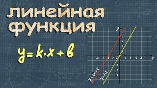 ЛИНЕЙНАЯ ФУНКЦИЯ y=kx и ее график 7 и 8 класс
