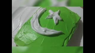 Pakistani Flag Cake Recipe.