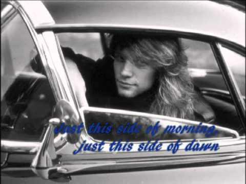 Bon Jovi The Radio Saved My Life Tonight Lyrics