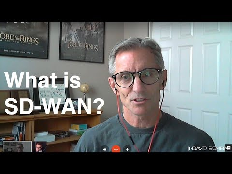 SD-WAN - what is that? Talks with Chuck Black.