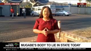 Mugabe's body to lie in state at Rufaro Stadium