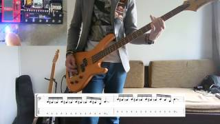 Royal Blood - Hook, Line and Sinker Bass cover with tabs
