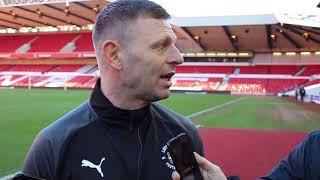 Graeme Jones on the defeat to Nottingham Forest
