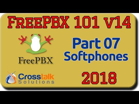 FreePBX 101 V14 Part 7 - Softphones