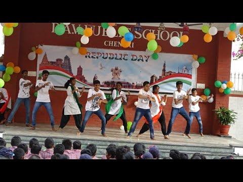 Superb Group Dance On Aye Watan Aye Watan By SDBS Public School Students