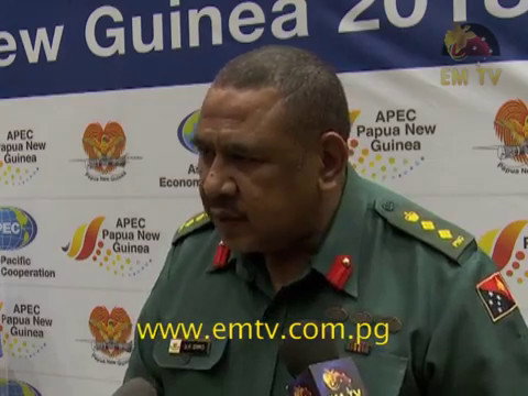 PNG Defence Force Stands Committed to Assist in 2018 APEC Security Operations