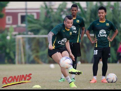 Andre Lopes Phuket Fc Thailand 2015 training free kick