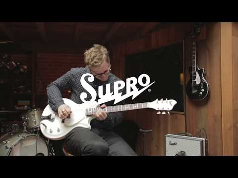 Supro Belmont Semi-Hollow Electric Guitar with Jared Scharff