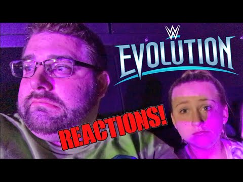 So I Went to WWE Evolution... Live Crowd Arena Reactions Review 10/28/18 Long Island NY Halloween