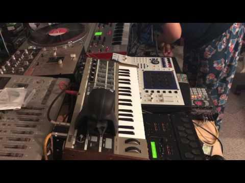 Akai mpc 4000 sp404 asrX live boombap beats