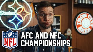 Pittsburgh Dad Reacts to AFC & NFC Championships