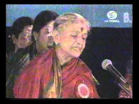 M . S.  Subbulakshmi - Spirit of Unity concert 02 for National Integration_20m 51s