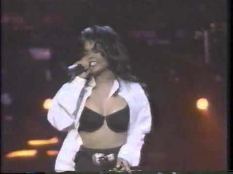 "JANET JACKSON ""Black Cat"""