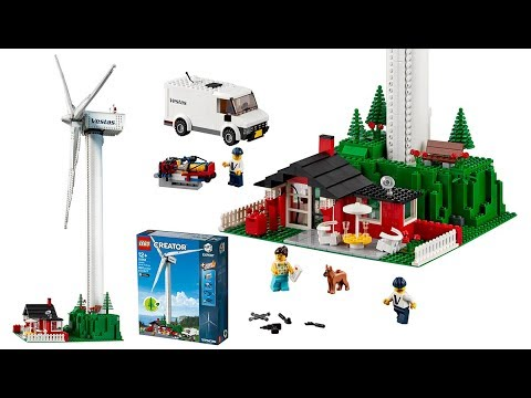 LEGO Creator 10268 Vestas Wind Turbine official set images