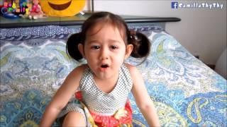 Em LyLy 3 tuổi hát nhạc Bolero/ Chị quay clip cho em hát :-)