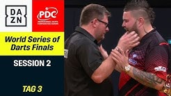James Wade und Michael Smith mit packendem Finale | World Series of Darts Finals | Highlights | DAZN