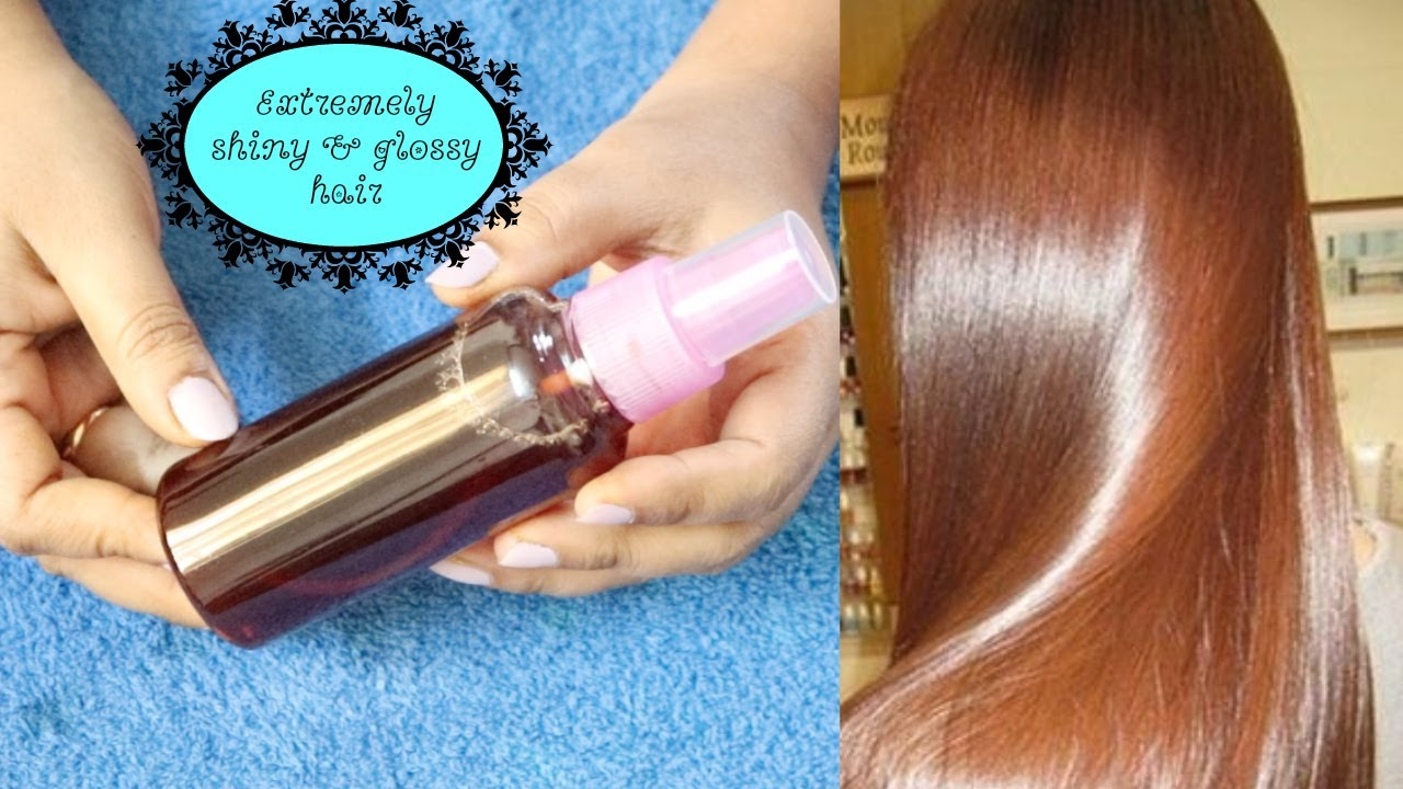 Only One Ingredient Make My Hair Super Glossy And Shiny