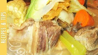 Recipe: Mexican Caldo De Res (beef Broth) -the290ss