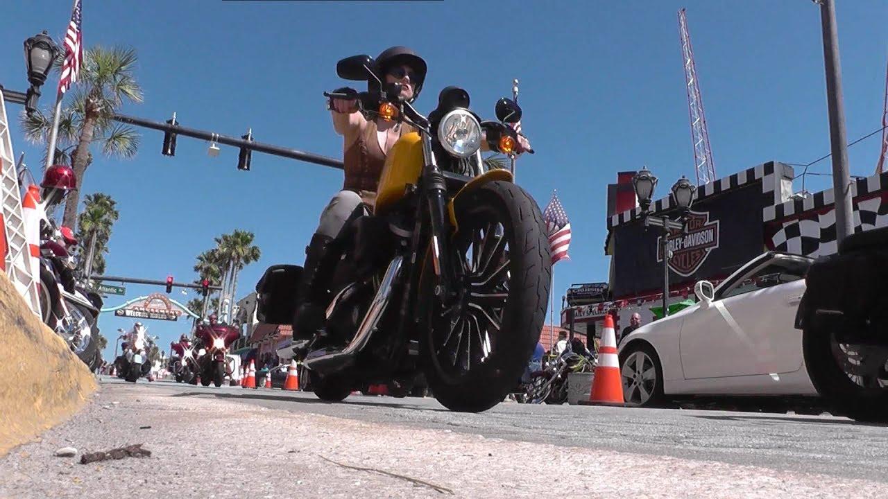 Main Street Moments Bike Week 2017 Daytona Beach Fl U S A