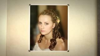 Свадебные прически с цветами для невест(, 2014-04-24T11:37:11.000Z)