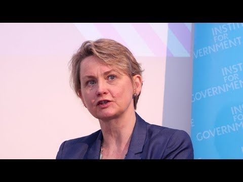 In conversation with Yvette Cooper