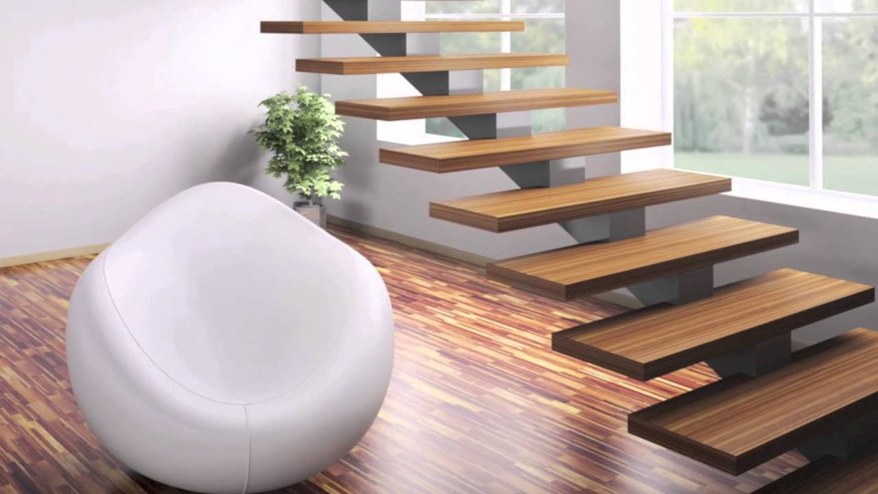 Modern Home Staircase Designs - YouTube
