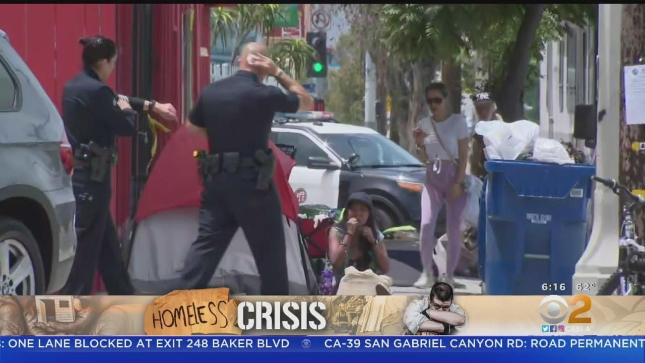 Homeless Population Growing On LA's Westside