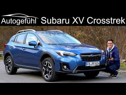 Subaru XV Crosstrek FULL REVIEW all-new generation neu 2019 2018 - Autogefühl