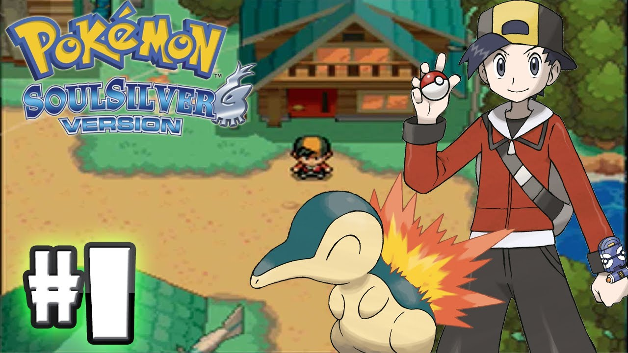 Pokemon SoulSilver Version - Part 1