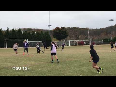 WCU women's ultimate Fall 2017
