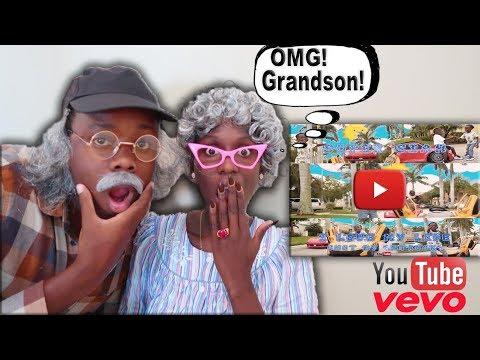 Greedy Granny & Grumpy Grandpa Reacts To Super Siah I Love My Life Song!