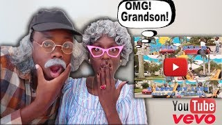 Greedy Granny & Grumpy Grandpa Reacts To Super Siah I Love My Life Song!
