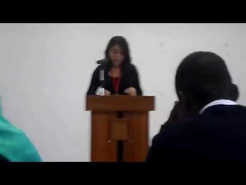 The great debaters 2012,3ème tour Esith VS ESI (école des sciences de l'information)