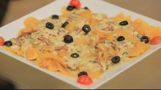 بطاطا محمرة بصوص الجبن | غادة جميل