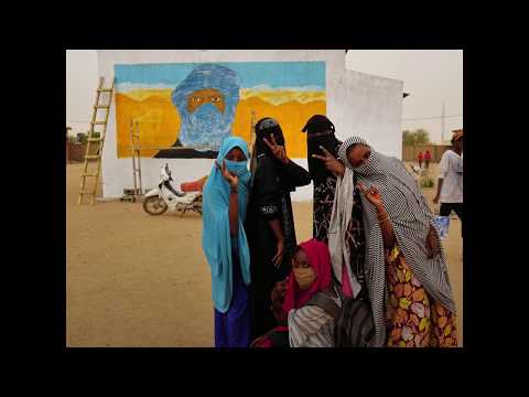 Street Art on COVID-19 Reaches Remote Communities in Northern Niger
