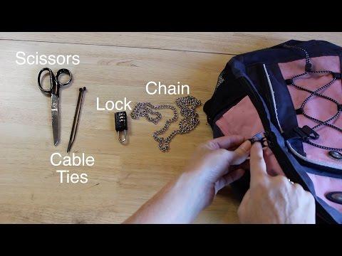 Life Hack Keeping Zipper Up