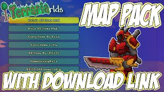 Terraria world download all items | Terraria 1 3 1 ALL ITEMS MAP
