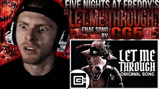 "Vapor Reacts #688 | [FNAF SFM] FNAF SONG ANIMATION ""Let Me Through"" by CG5 ft. Dolvondo REACTION!!"