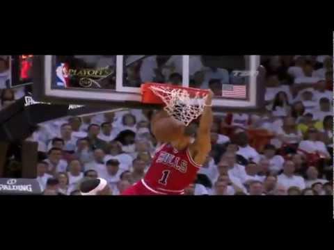 Derrick Rose 2011 MVP Drake