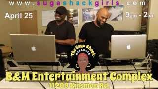 Suga Shack Interview with DJ