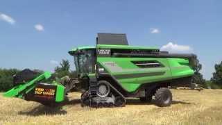 NEW  COMBINES  DEUTZ - FAHR  C 9206 TS + CLAAS LEXION 770 NPS Hybrid