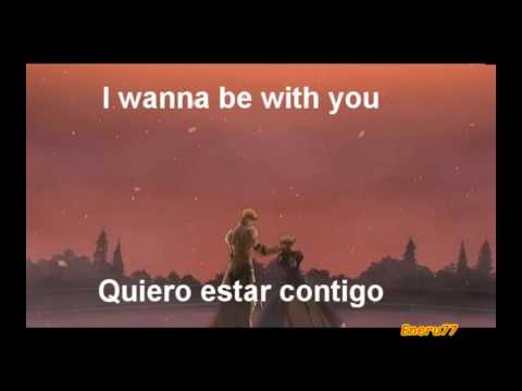 Backstreet Boys - I Wanna Be With You - Lyrics (Spn/Engl)