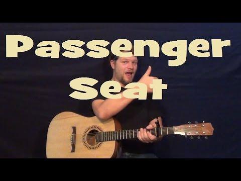 Passenger Seat (Stephen Speaks) Easy Strum Guitar Lesson How to Play ...